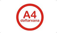 A4 dəftərxana