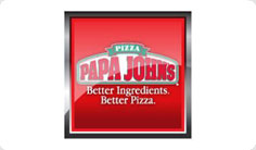 Кампания в Papa Johns Pizza